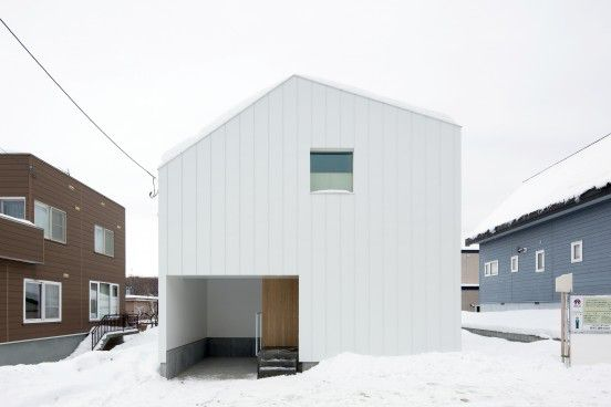 札幌市豊平区 スベリ台のある家新築工事