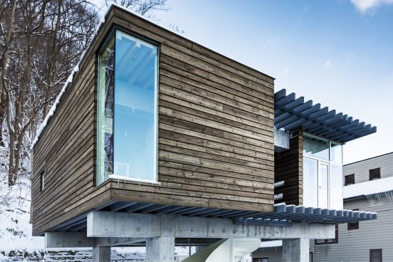 札幌市中央区 神社山の隠れ鳥居の家 新築工事
