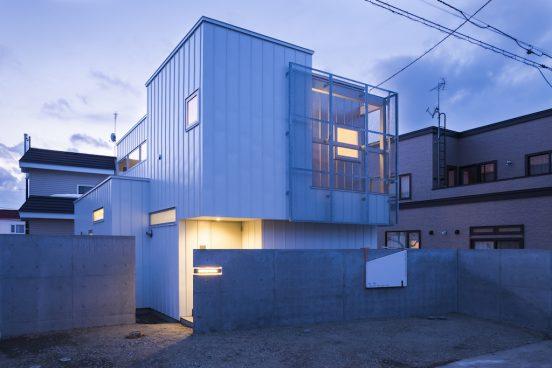 札幌市厚別区 つながる家新築工事
